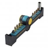 Wolfcraft 1367000 - 1 BitButler, Torsión-TiN: con portapuntas magnético y 8 puntas