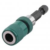 Wolfcraft 2411000 - 1 portapunta magnético y limitador de profundidad 60 mm