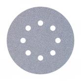 Wolfcraft 1156100 - 25 muelas de lija adhesivas, para pintura y laca/ barniz, Ø 125 mm