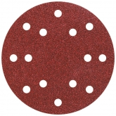 Wolfcraft 1840100 - 12 discos abrasivos aderentes