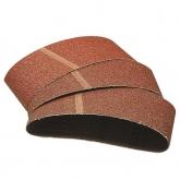 Wolfcraft 1890000 - 3 nastri di tela abrasiva