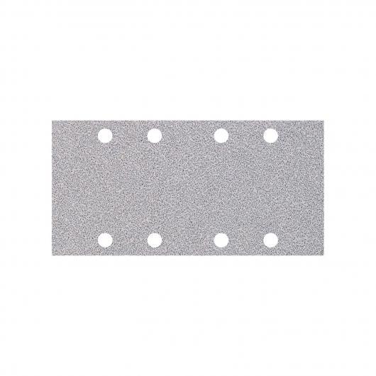 Wolfcraft 1124000 - 10 tiras abrasivas con adhesiva, para pintura y laca/ barniz, grano 180, perforadas 93 x 185 mm