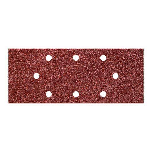 Wolfcraft 1971000 - 5 patines de lija de corindón, grano 40; perforadas 93 x 230 mm