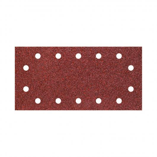 Wolfcraft 3185000 - 5 strisce abrasive velcro