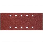 Wolfcraft 1730100 - 25 patines de lija de corindón, grano 40,80,120; perforadas 115 x 280 mm