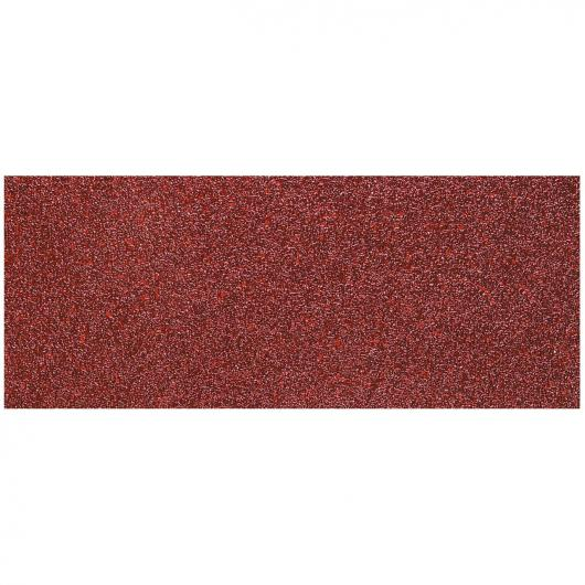Wolfcraft 2080000 - 1 patin de lija corindón grano 180, sin perforación, granel 93 x 230 mm