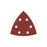 Wolfcraft 1850100 - 25 feuilles abrasives auto-agrippantes