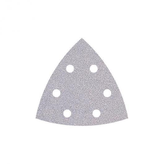 Wolfcraft 1160000 - 5 feuilles abrasives auto-agrippantes