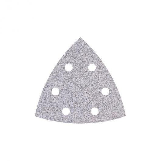 Wolfcraft 1161000 - 5 feuilles abrasives auto-agrippantes