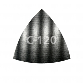 Wolfcraft 8469000 - 5 patins en toile abrasive à mailles auto-agrippants