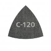 Wolfcraft 8469000 - 5 abrasivi retinati velcrati