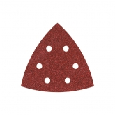Wolfcraft 1780000 - 5 feuilles abrasives auto-agrippantes