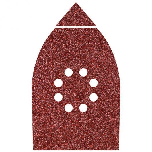 Wolfcraft 1791000 - 6 abrasivi velcrati