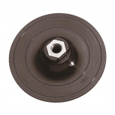 Wolfcraft 2285000 - 1 platillo para lijar de adherencia con rosca M 14 Ø 125 mm