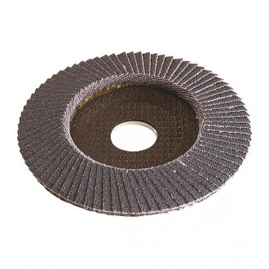 Wolfcraft 2029099 - 1 disco abrasivo de láminas, corindón de circonio grano 40, granel Ø 115 x 22 mm