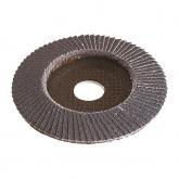 Wolfcraft 2027000 - 1 disco abrasivo de láminas, corindón de circonio grano 80 Ø 115 x 22 mm