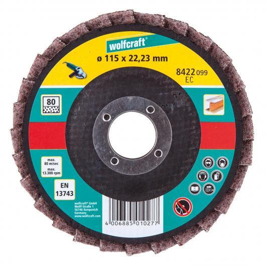 Wolfcraft 8422099 - 1 disque à lamelles fibre