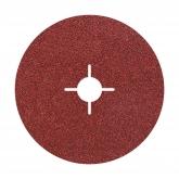 5 discos abrasivos de fibra ø 115 mm Wolfcraft