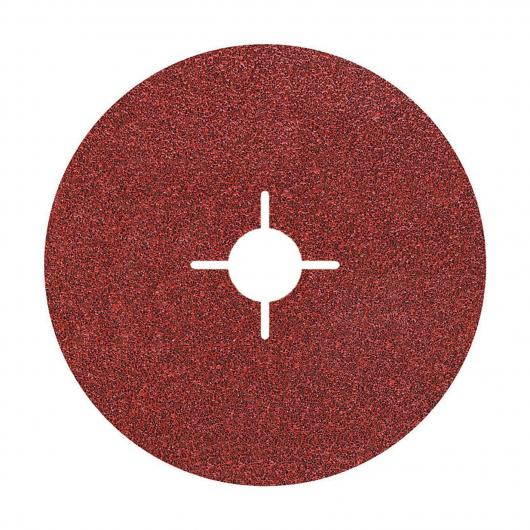 Wolfcraft 2468000 - 5 dischi abrasivi di fibra