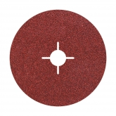 Wolfcraft 2475000 - 5 muelas de esmeril, grano 100 Ø 180 mm