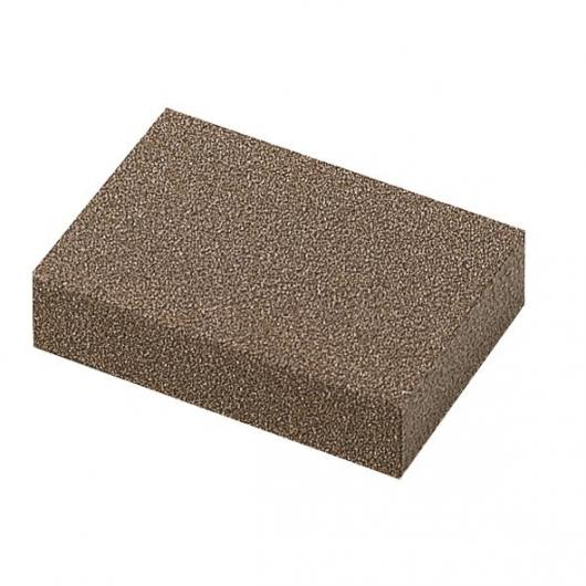 Wolfcraft 2894000 - 1 bloque para lijado a mano de caucho esponjoso 100 x 70 x 25 mm
