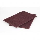 Wolfcraft 5899000 - 2 patins fibre abrasifs