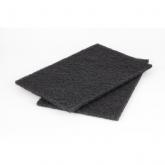 Wolfcraft 5900000 - 2 patins fibre abrasifs
