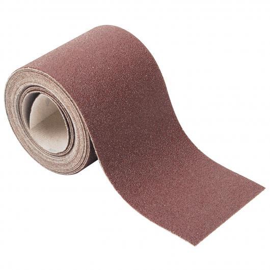 Wolfcraft 5810000 - 1 rollo papel abrasivo, con velcro auto-adhesivas, grano 60 4 m x 93
