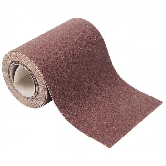 Wolfcraft 1740000 - 1 rollo papel abrasivo, con velcro auto-adhesivas, grano 80 4 m x 115