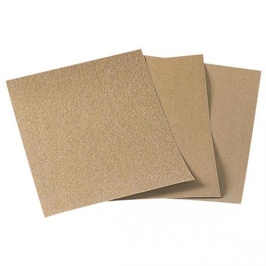 Wolfcraft 2852000 - 1 pliego papel de lija estándar, grano 80, sueltos 230 x 280 mm