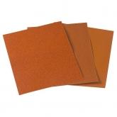 Wolfcraft 2842000 - 1 feuille abrasive papier corindon