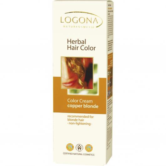 Crème colorante végétale Aurora Logona, 150 ml