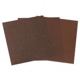 Wolfcraft 2883000 - 1 feuille abrasive en toile émeri exclusif