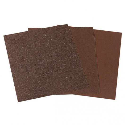 Wolfcraft 2883000 - 1 pliego tela de lija exclusíva, grano 100, sueltos 230 x 280 mm
