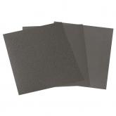 Wolfcraft 3119000 - 16 folhas de papel-lixa molhado/seco