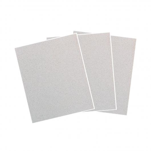 Wolfcraft 6012000 - 1 pliego papel de lija, para pintura y laca/ barniz, grano 80, sueltos 230 x 280 mm