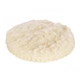 Wolfcraft 2224000 - 1 funda de lana adhesiva, fixoflex Ø 125 mm