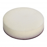 Wolfcraft 2249000 - 1 esponja de pulir con fieltro adhesivo Ø 125 mm