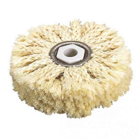 Wolfcraft 2098000 - 1 brosse en fibre de sisal
