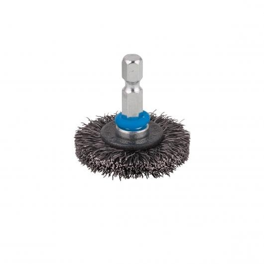 Wolfcraft 2710000 - 1 brosse métal circulaire