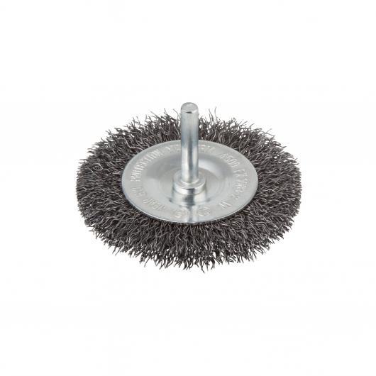 Wolfcraft 8470000 - 1 spazzola metallica a disco