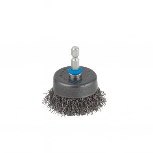 Wolfcraft 2106000 - 1 spazzola metallica a tazza