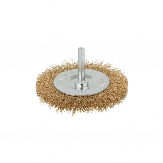 Wolfcraft 8475000 - 1 brosse métal circulaire