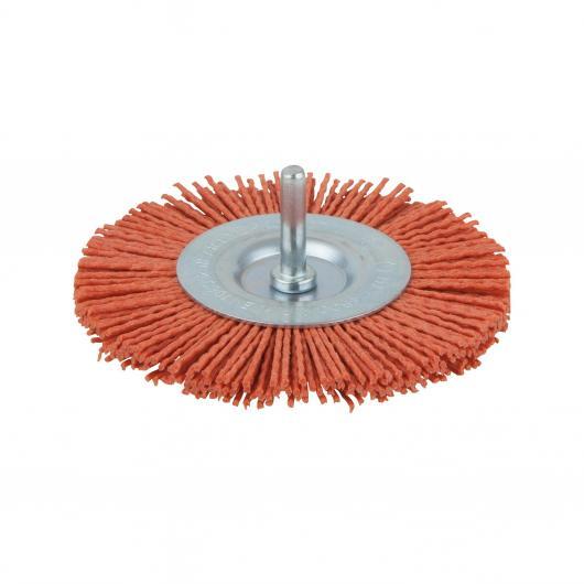 Wolfcraft 8477000 - 1 brosse circulaire en nylon