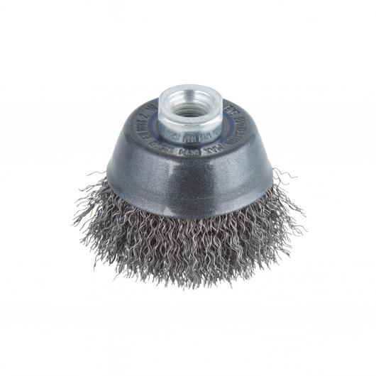 Wolfcraft 2107000 - 1 brosse métal soucoupe