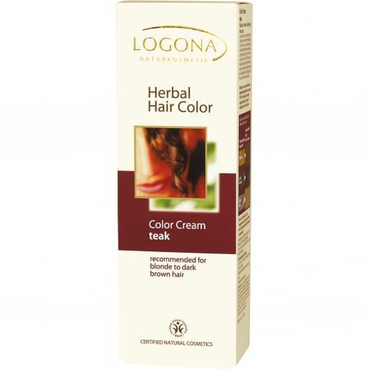 Tinte Vegetal en Crema Teka Logona, 150ml