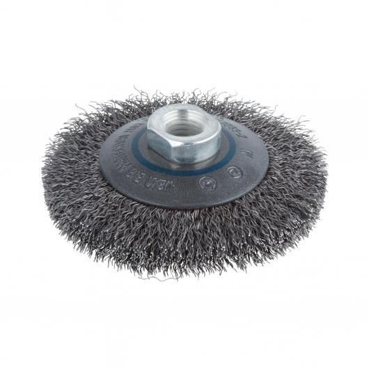 Wolfcraft 2705000 - 1 spazzola metallica conica