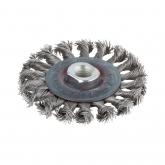 Wolfcraft 2701000 - 1 escova metálica de discos em aço inox