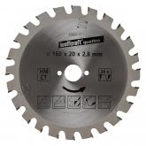 Wolfcraft 6568000 - 1 lama per seghe circolari
