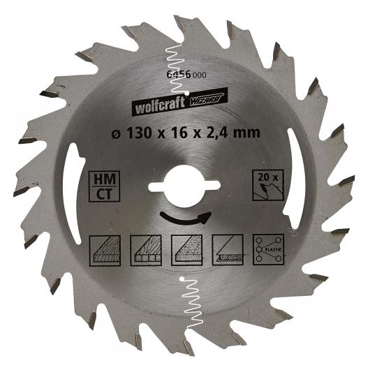 Wolfcraft 6456000 - 1 lame de scie circulaire